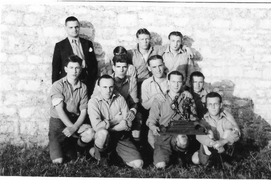 Inter House winners of the Football Competition 1936
